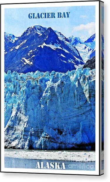 Glacier Bay Canvas Print - Alaska by Sophie Vigneault