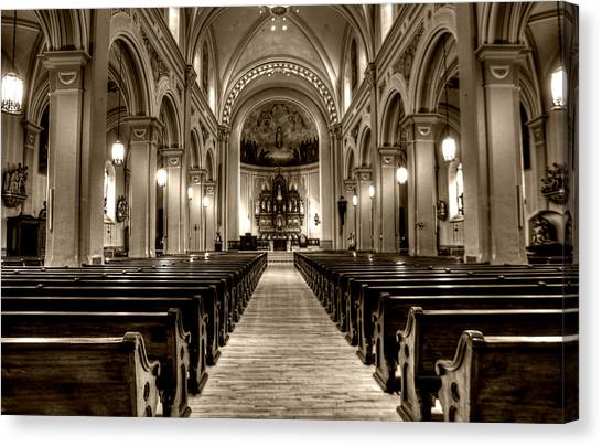 Church Of The Assumption Canvas Print