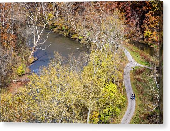Ohio Valley Canvas Print - Cuyahoga Valley National Park by Jim West