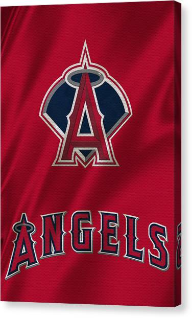 Los Angeles Angels Canvas Print - Los Angeles Angels by Joe Hamilton