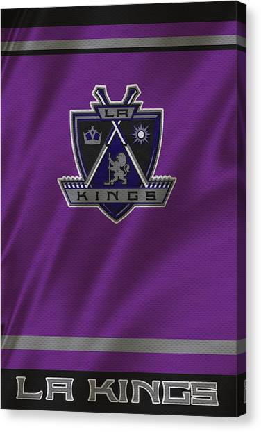 Los Angeles Kings Canvas Print - Los Angeles Kings by Joe Hamilton