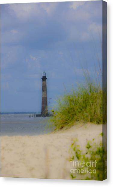 Wood View Canvas Print