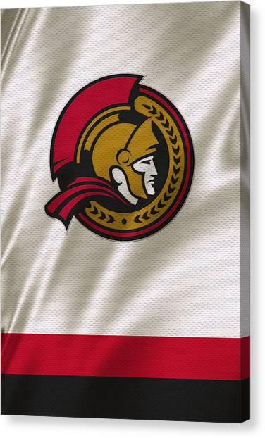Ottawa Senators Canvas Print - Ottawa Senators by Joe Hamilton