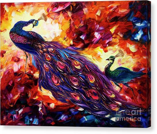 Print On Canvas Print - Peacock by Willson Lau