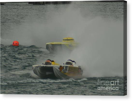 Port Huron Sarnia International Offshore Powerboat Race Canvas Print