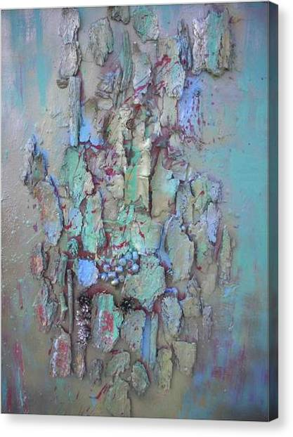 Assemblage Canvas Print by Wiola Anyz
