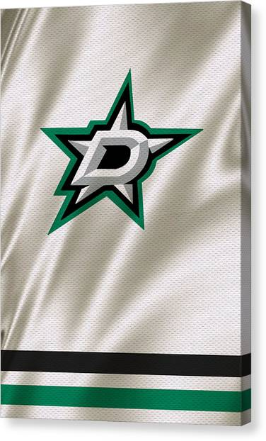 Dallas Stars Canvas Print - Dallas Stars by Joe Hamilton