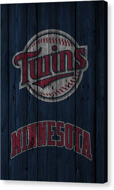 Minnesota Twins Canvas Print - Minnesota Twins by Joe Hamilton