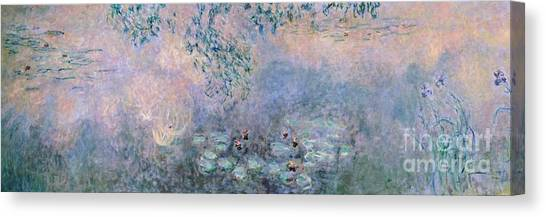 Art Movements Canvas Print - Water Lilies by Claude Monet