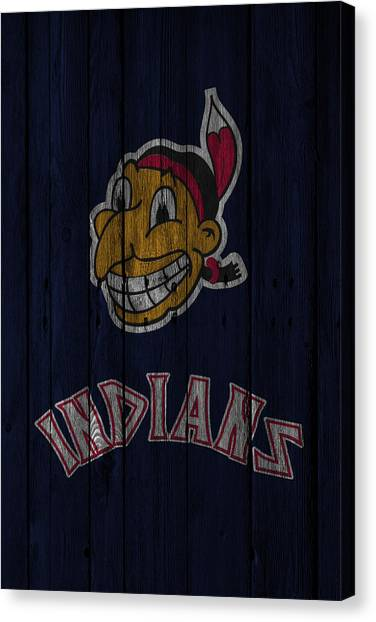 Cleveland Indians Canvas Print - Cleveland Indians by Joe Hamilton