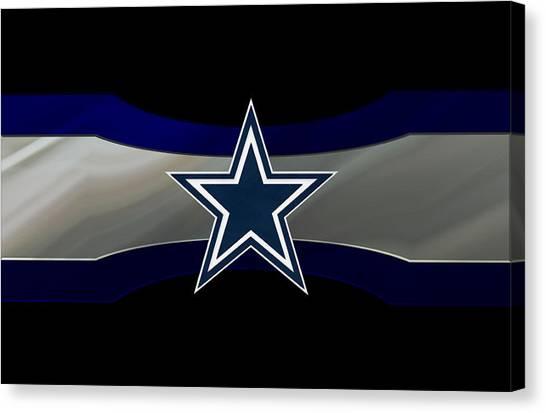 Touchdown Canvas Print - Dallas Cowboys by Joe Hamilton
