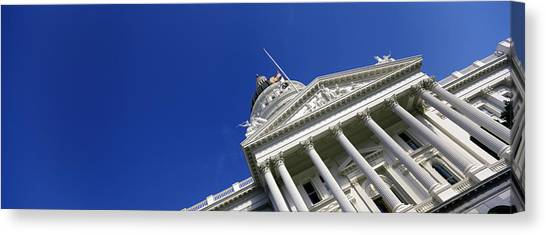 Big West Canvas Print - Low Angle View Of A Government by Panoramic Images