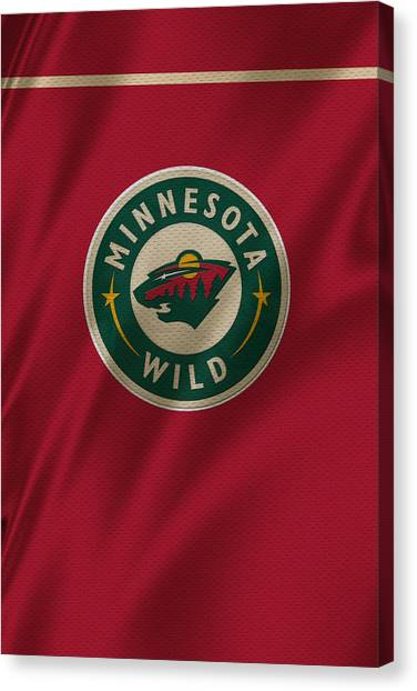 Minnesota Wild Canvas Print - Minnesota Wild by Joe Hamilton