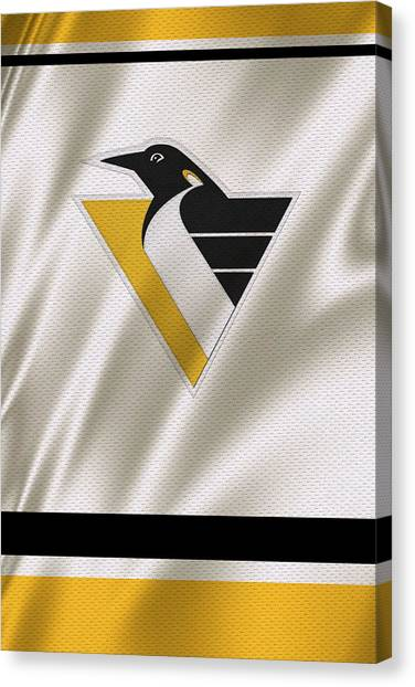 Pittsburgh Penguins Canvas Print - Pittsburgh Penguins by Joe Hamilton