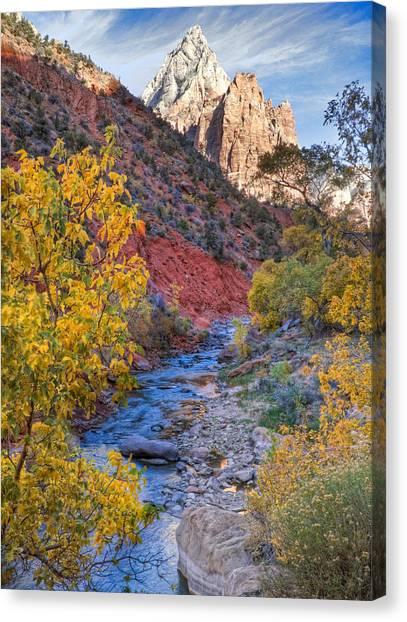 Zion National Park Utah Canvas Print
