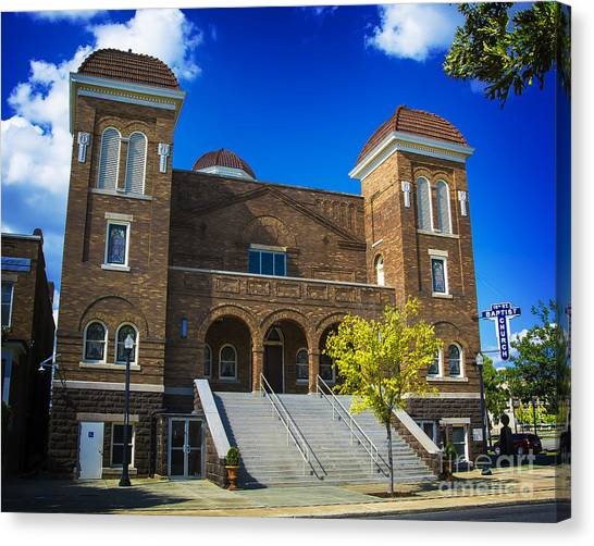 16th Street Baptist Church Canvas Print