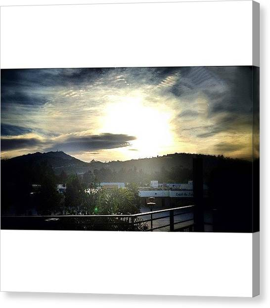 High School Canvas Print - 16x9 For Reals #16x9fordays #poway by Brandon Yamaguchi