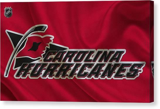 Carolina Hurricanes Canvas Print - Carolina Hurricanes by Joe Hamilton