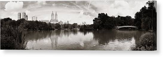 Central Park Spring Canvas Print