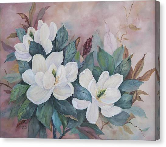 James Lewis Canvas Print - Flowers Of The South by Frances Lewis