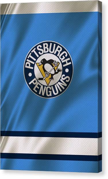 Pittsburgh Penguins Canvas Print - Pittsburgh Penguins by Joe Hamilton