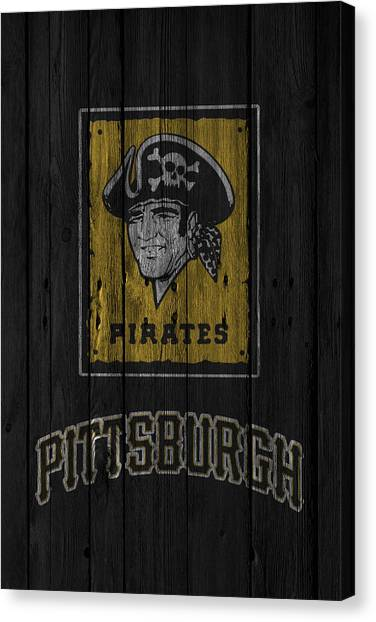 Pittsburgh Pirates Canvas Print - Pittsburgh Pirates by Joe Hamilton