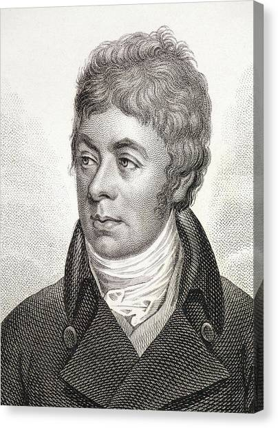 Keeper Canvas Print - 1799 Portrait Of George Shaw Zoologist by Paul D Stewart