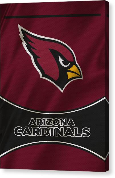 Arizona Cardinals Canvas Print - Arizona Cardinals Uniform by Joe Hamilton
