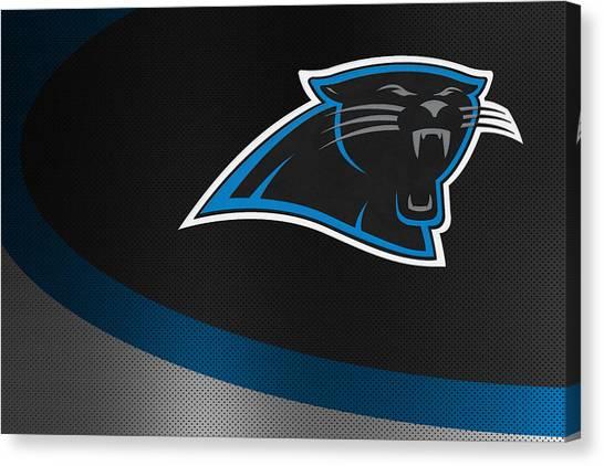 Panthers Canvas Print - Carolina Panthers by Joe Hamilton