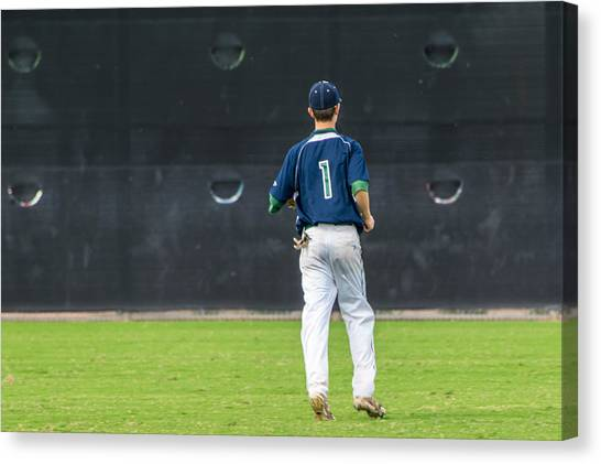 Strikeout Canvas Print - Numberone by Marit Runyon