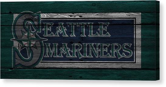 Seattle Mariners Canvas Print - Seattle Mariners by Joe Hamilton