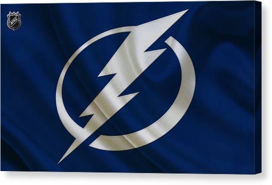 Tampa Bay Lightning Canvas Print - Tampa Bay Lightning by Joe Hamilton