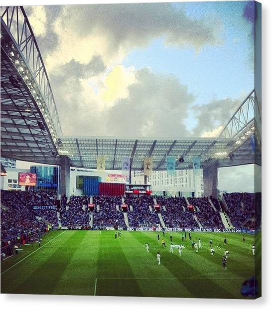 Soccer Teams Canvas Print - Instagram Photo by Francisca Andrade