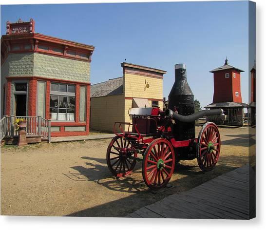 1880 Ghost Town South Dakota 4635 Canvas Print