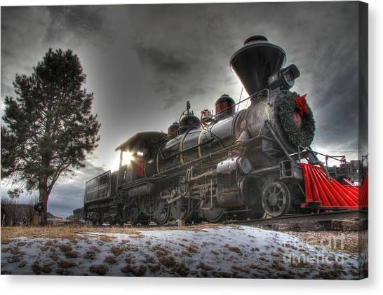 1880 Train Canvas Print