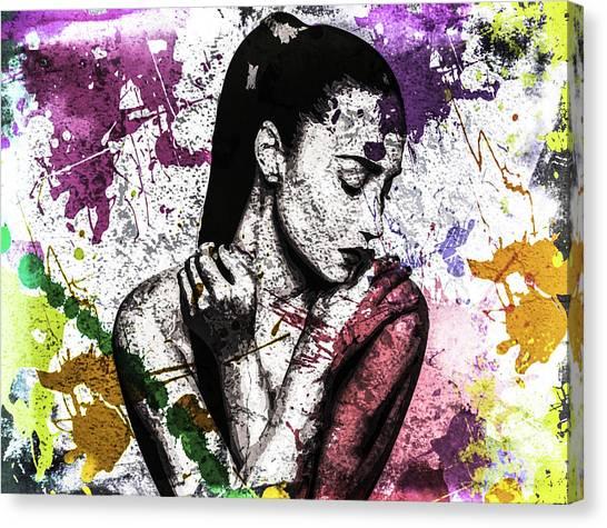 Demi Lovato Canvas Print