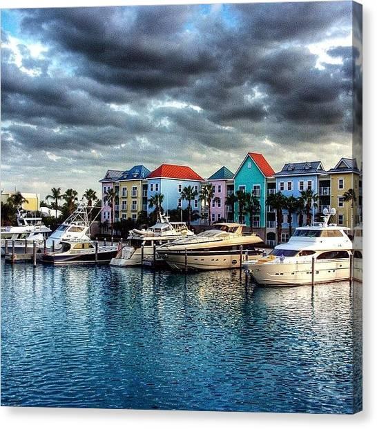 Bahamas Canvas Print - Paradise Island, Nassau by Octav Studio