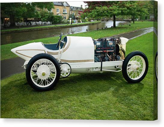 1911 Benz Re Lsr Canvas Print