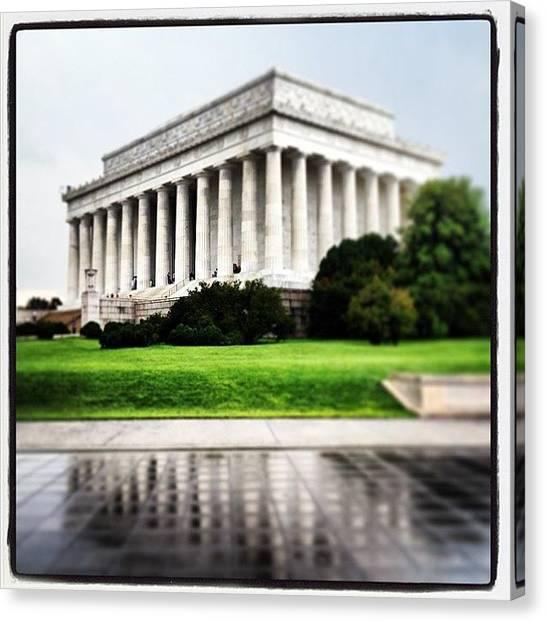 Washington D.c Canvas Print - Instagram Photo by Aaron Kahn