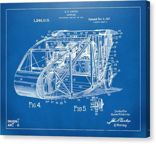 Airplane blueprint canvas prints page 3 of 19 fine art america airplane blueprint canvas print 1917 glenn curtiss aeroplane patent artwork 3 blueprint by nikki marie malvernweather Images