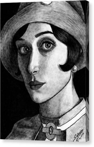 Elizabeth Debiki As Jordan Baker Canvas Print