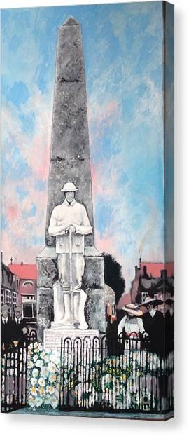 1921 War Memorial Canvas Print
