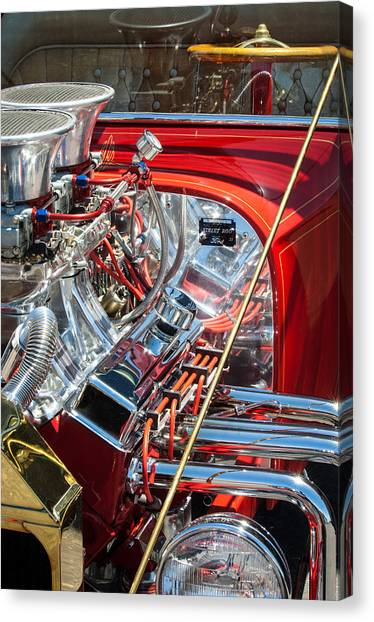 Ford Automobiles Canvas Print - 1923 Ford T-bucket by Jill Reger