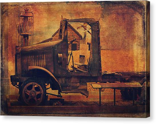 Rusty Truck Canvas Print - 1923 International Truck  by Maria Angelica Maira