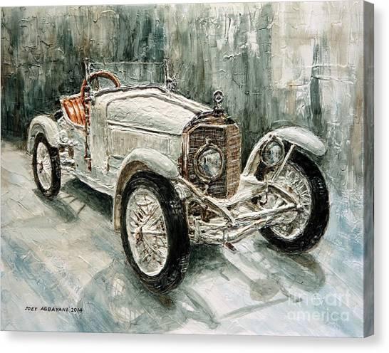 1923 Mercedes Ps Sport- Zweisitzer Canvas Print