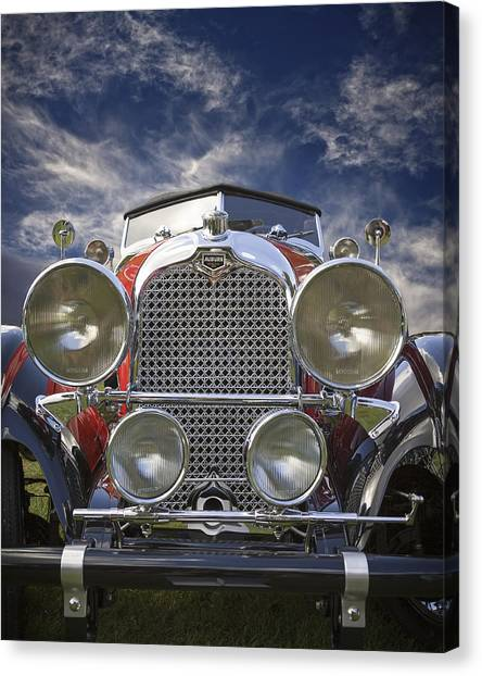 1928 Auburn Model 8-88 Speedster Canvas Print