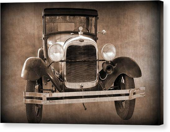 1928 Ford Model A Coupe Canvas Print