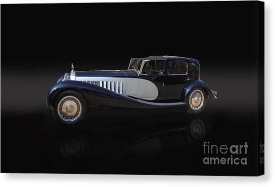 1929 Bugatti Type 41 Royale Canvas Print