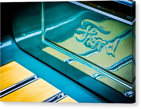 Ford Truck Canvas Print - 1929 Ford Roadster Pickup Truck -0158c by Jill Reger