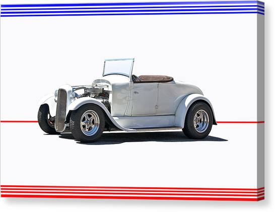 1930 Ford Model A Roadster I Canvas Print by Dave Koontz